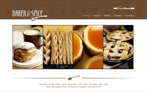 bakerspice-website
